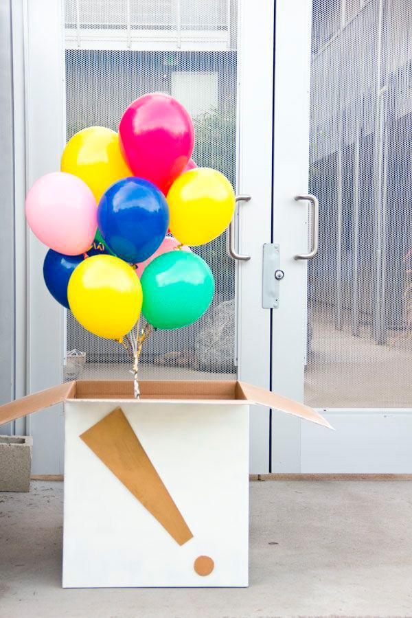 GloboStyle, envío ramo de globos de helio colores