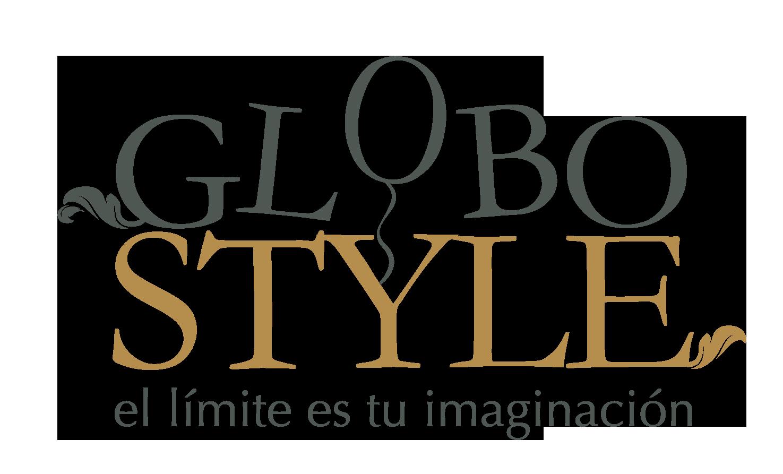 GloboStyle Logo. Globos para fiestas. Globos para Eventos y Globos publicitarios