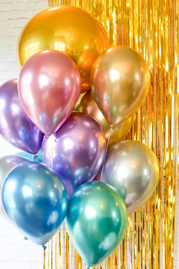 GloboStyle, ramo de globos de helio de colores