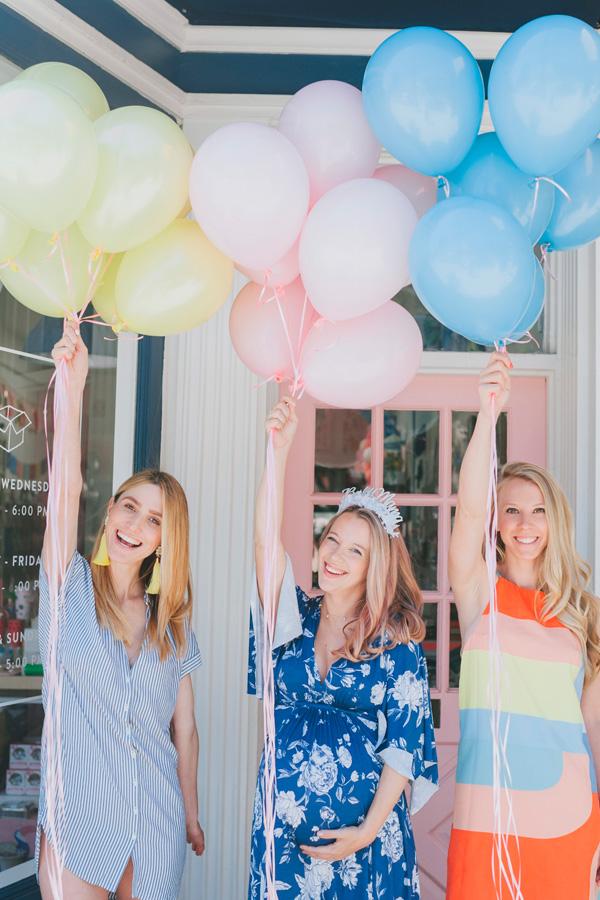 GloboStyle, ramos de globos de helio para babyshowers