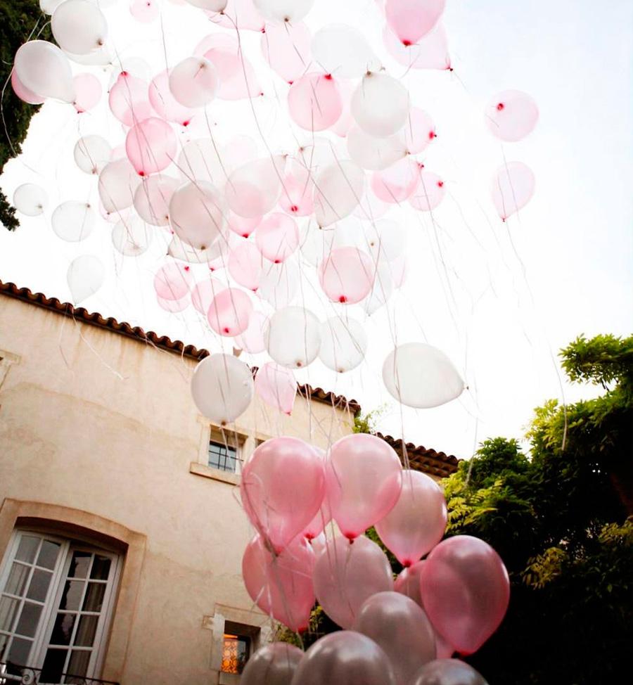 Suelta de globos contra el cancer