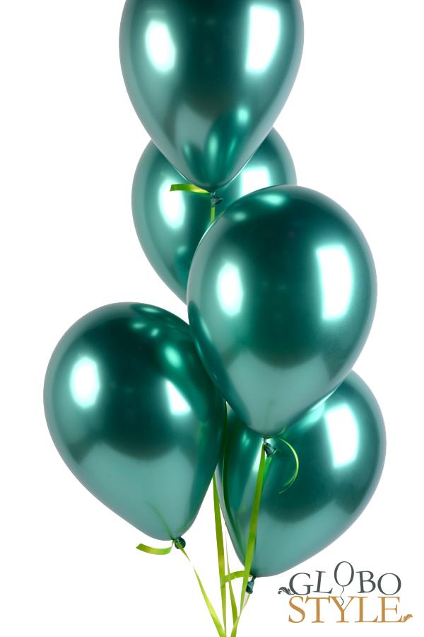 GloboStyle, regalar ramo de globos de helio verde